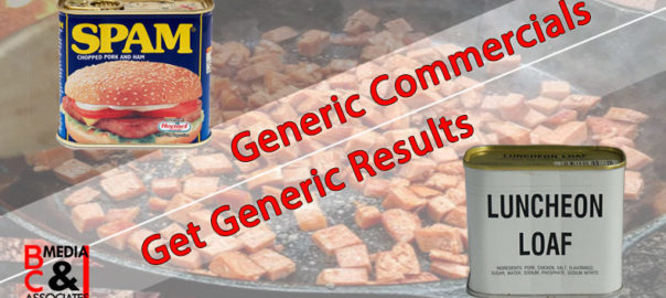 Generic Commercials Get Generic Results